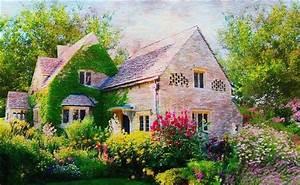 English Cottage Style Wallpaper - WallpaperSafari