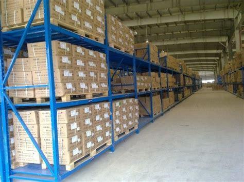 Three Levels Pallet Stock Steel Heavy Duty Shelving Racks