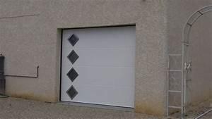 portes de garages alu With pose d une porte de garage sectionnelle motorisée