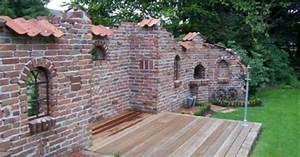 Gartenmauern Aus Stein : ruinenmauer garten pinterest ruinenmauer brauch und ~ Lizthompson.info Haus und Dekorationen