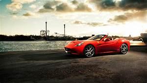 California Ferrari Car Stylish HD Wallpapers
