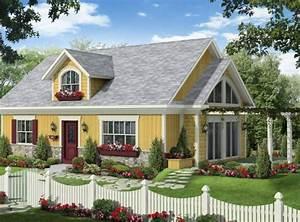 maison neuve plain pied modele paysanne With plan maison avec cote 2 maison neuve plain pied modale paysanne