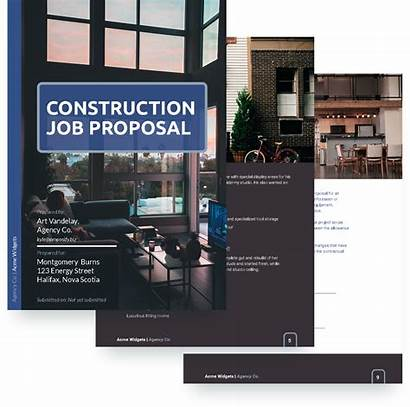 Template Job Proposal Construction Templates Sample Copy