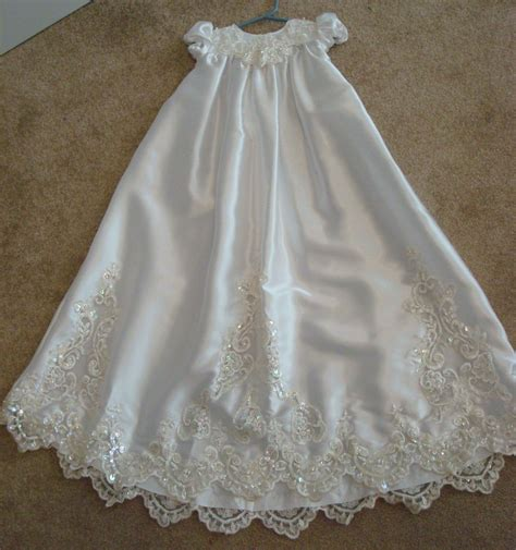 Christening gown from upcycled wedding dress wedding