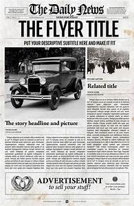 39 best newspaper templates images on pinterest role With adobe illustrator newspaper template