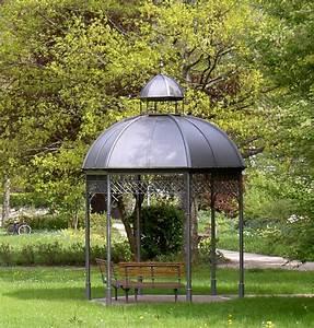 Pavillon Mit Festem Dach : metall pavillon mit festem dach gartenpavillon metall mit ~ Michelbontemps.com Haus und Dekorationen