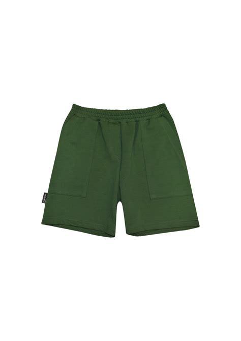 Siltie šorti tumši zaļi, zēnu | HEBE