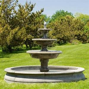 Large outdoor fountains large water features for Large outdoor fountains