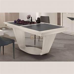 table salle a manger tonneau extensible chene massif With meuble salle À manger avec table carràé extensible