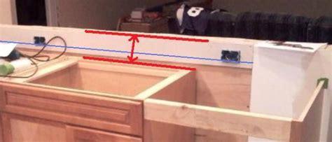 kitchen countertop receptacle height doityourselfcom
