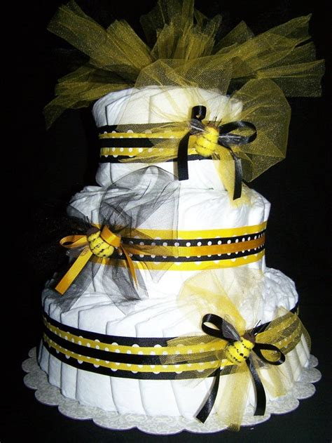 items similar  bumble bee  tier diaper cake baby shower
