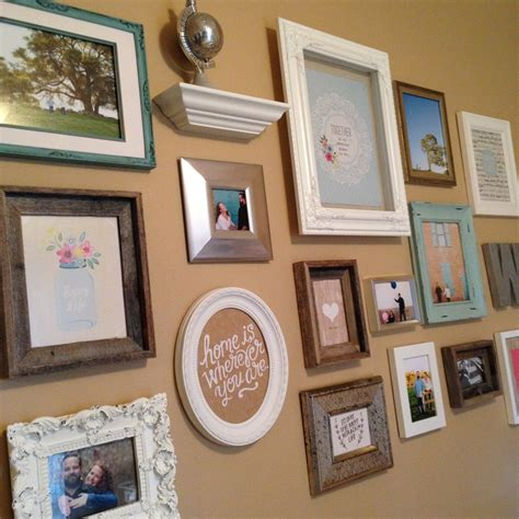 how to make a gallery wall gallery wall in my bedroom me my big ideas