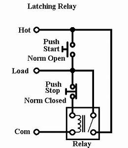 relay efficient toggle switch electrical engineering With latching relay wiring diagram toggle switch wiring diagram 8 pin relay