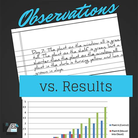 observations and results