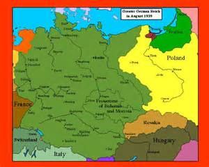 Germany Map 1939