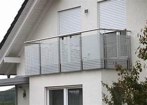 Balkongeländer Pulverbeschichtet Anthrazit : lochblech balkongel nder die neueste innovation der ~ Michelbontemps.com Haus und Dekorationen
