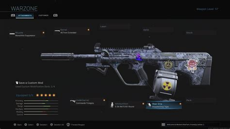 warzone aug setup smg attachments ar tac barrel heavy forge speed ads very most core comments range keyboard shreds absolutely