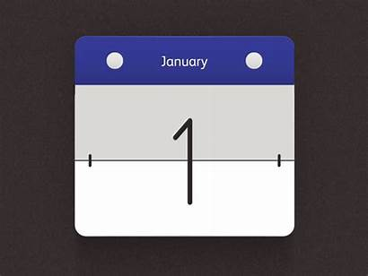 Calendar Flip Motion Flipping Animation Google Dribbble
