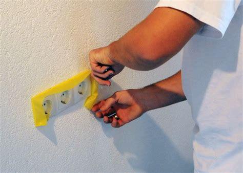 Streichen Abkleben Tipps by So Sch 252 Tzen Sie Ihren Boden Lichtschalter Und M 246 Bel Vor