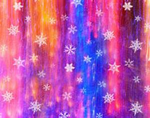 Snow Crystal Background Royalty Free Stock Image Image