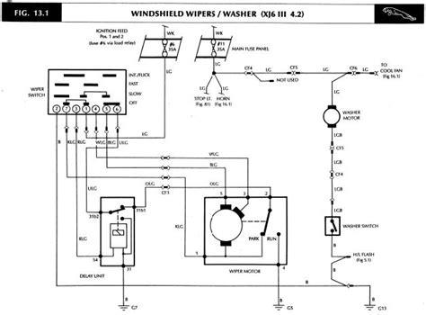 Xj6 Wiper Wiring Diagram 1987 jaguar xj6 wiper motor location jaguar forums