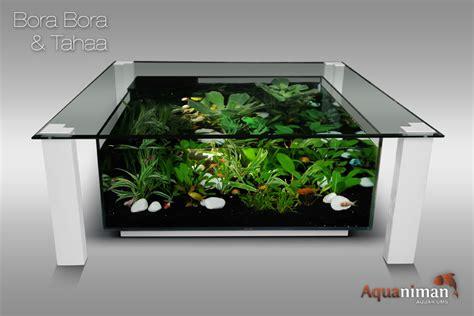 table basse aquarium belgique mobilier design