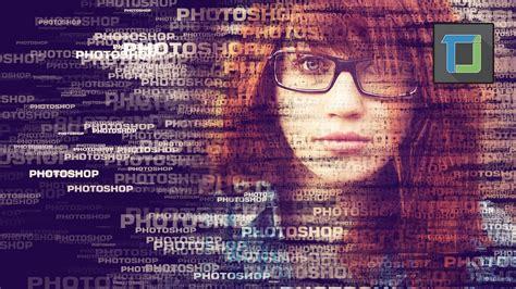 Text Portrait Effect  Photoshop Tutorial Cs6 Photo