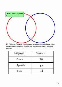 Day 2 Venn Diagrams Numerical