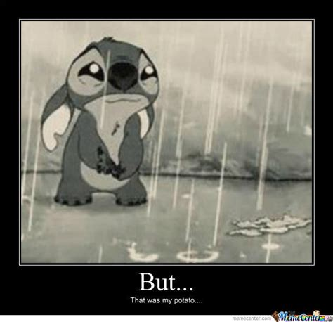 Stitch Hi Meme - sad stitch meme www imgkid com the image kid has it