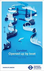 Advertising poster for TFL … | Graphic design posters ...