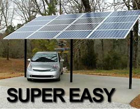Solar Panel Carport by Germans Encouraged To Roof Carports With Solar Panels