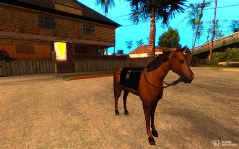gta horse san andreas sa gamemodding