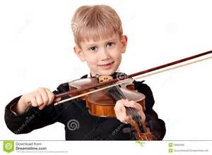 boy play violin portrait stock photography image 29064582