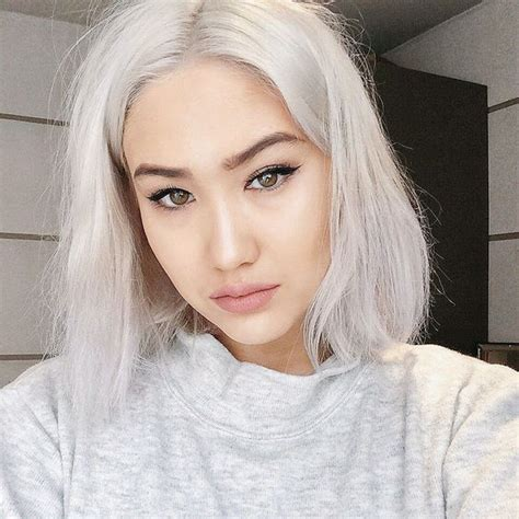 White Hair Dye How To Dye Your Hair White Blonde Part 2
