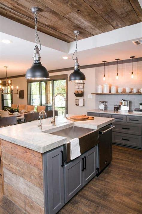 cuisine avec ilot la cuisine équipée avec îlot central 66 idées en photos