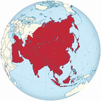 Asia Globe Svg Centered Africa Square Continent