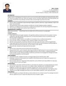 logistics coordinator resume objective cv abdul rashid logistics coordinator or cargo assistant