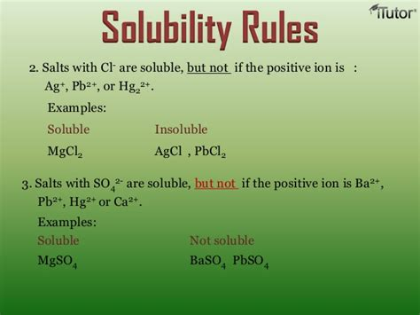 Solution & Solubility