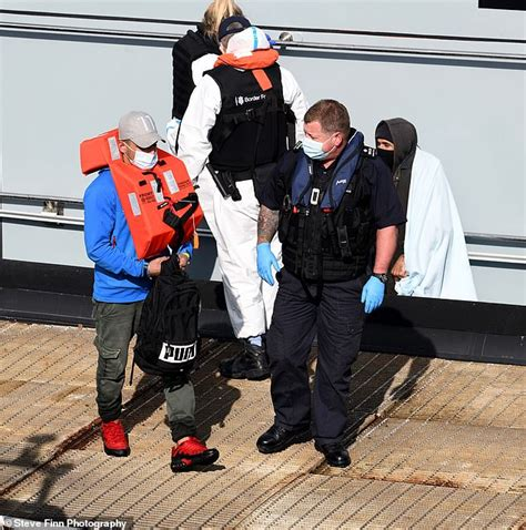 Dozens of migrants stopped by Border Force in dinghy ...