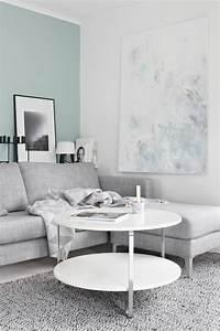 cheap amazing peindre un salon en deux couleurs jolisalon With nice quelle couleur avec du gris 3 nos astuces en photos pour peindre une piace en deux couleurs