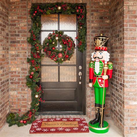 life size outdoor christmas decorative resin nutcracker