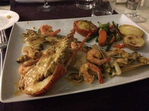 assiette crustac 233 s poisson picture of restaurant la marsa rabat tripadvisor