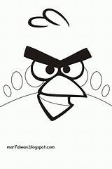 Angry Birds Coloring Negro Blanco Dibujos Colorear Dibujo Lei Colorir Terence Ausmalbilder Imagenes Plano Primer Imagens Juegos Desenhos Imprimir Kostenlos sketch template