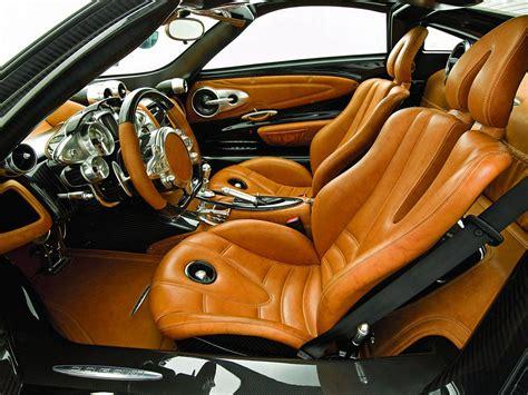 Exotic Leather Car Interior