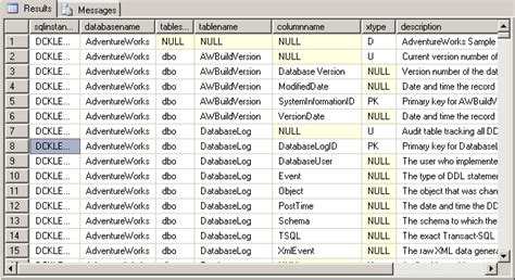 Script To Build A Sql Server Data Dictionary And Report
