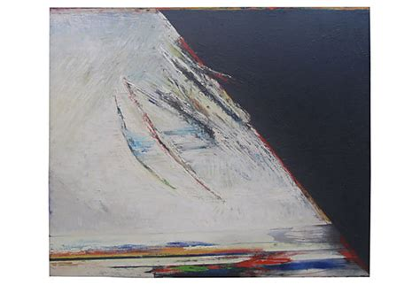 abstract oil painting fuerzas superiores  perez celis