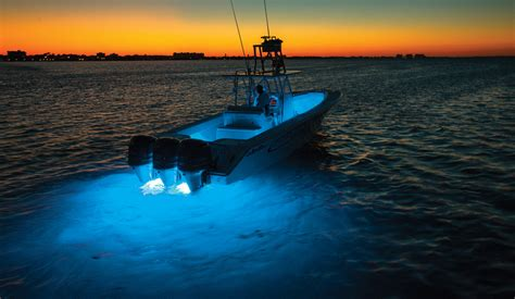 Lumishore Underwater Boat Lights by Lumishore Smx11 Surface Mount Underwater Boat Led Blue