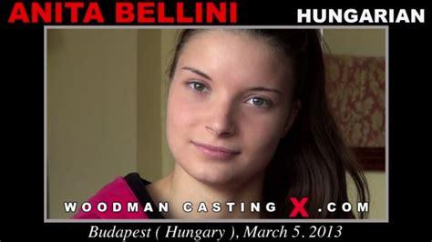 ANITA BELLINI All Girls In Woodman Casting X