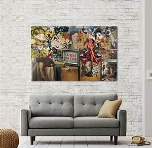 Tableau Salon Design : tableau design 10 tableaux pour vous inspirer ~ Teatrodelosmanantiales.com Idées de Décoration