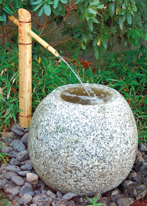Quellstein Japanischer Garten by Japanische Wasserbecken Quellsteine Wasserbecken